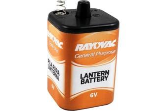Rayovac 6V General Purpose Lantern Battery, 0.5kg