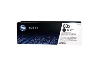 (High Yield) - HP 83X High Yield Black Original LaserJet Toner Cartridge (CF283X)