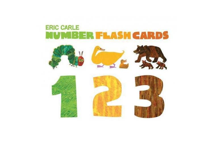 The World of Eric Carle(tm) Eric Carle Number Flash Cards