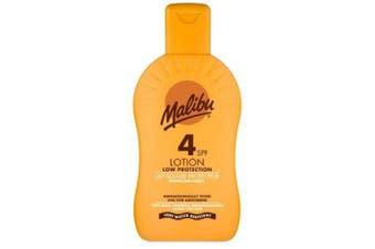 (SPF 4) - Malibu Protective Sun Lotion with SPF4 200 ml
