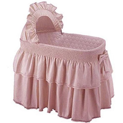 Pink Baby Doll Bedding Paradise Rainbow Bassinet Bedding For Girly Pink Kogan Com