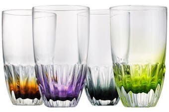(Highball) - Artland Solar Highball, Assorted, Set of 4
