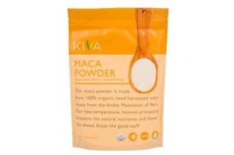 Kiva Organic Maca Powder - Non-GMO, Raw, Vegan, 470ml Pouch