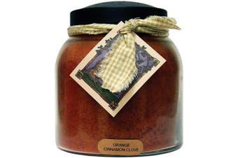 (1010ml, Orange Cinnamon Clove) - A Cheerful Giver Orange Cinnamon Clove 1010ml Papa Jar Candle, 1010ml