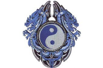 Application Blue Dragons with Yinyang Patch