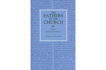 Homilies on Leviticus 1-16: Vol. 83 (Fathers of the Church Series)