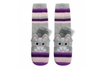 Aroma Home Cat Click and Heat Cosy Socks
