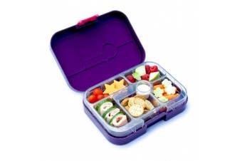 Yumbox Leakproof Bento Lunch Box Container (Figue Purple) for Kids