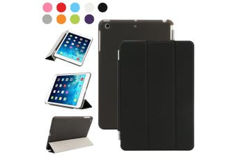 (iPad Mini 2/3, Black) - Besdata Magnetic Smart Cover Stand + Hard Back Case + Free Stylus Touch Pen + Free Screen Protector + Free Cleaning Cloth For Apple iPad mini 2 / mini 3 with retina display - Supreme Quality - Protects the Device - UK Stock -