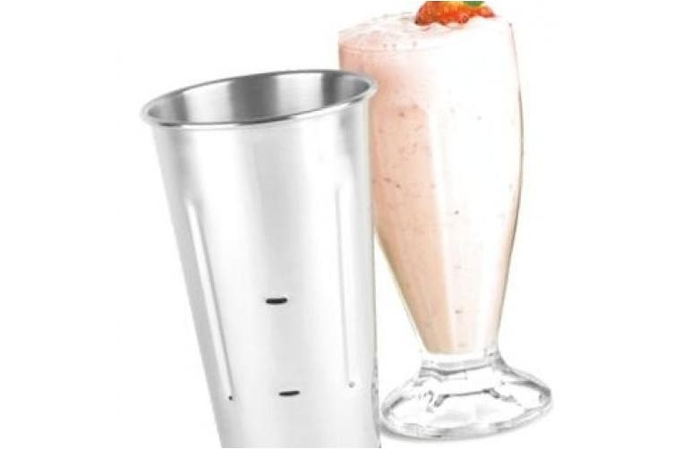 Stainless Steel Malt Cup 890ml by bar@drinkstuff   Milkshake Cup, Smoothie Cup, Mixing Tin