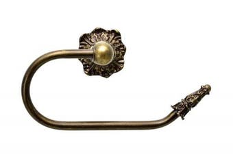 (Antique Brass) - Carpe Diem Hardware Carpe Diem 1644-3 Acanthus Antique Brass Tissue holder right, , Antique Brass