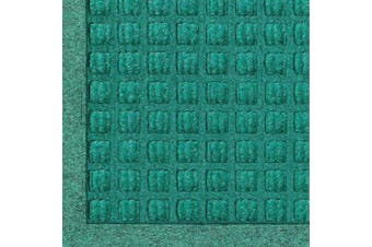 (0.9m Length x 0.6m Width, Aqua Marine) - Andersen 280 WaterHog Fashion Polypropylene Fibre Entrance Indoor/Outdoor Floor Mat, SBR Rubber Backing, 0.9m Length x 0.6m Width, 1cm Thick, Aquamarine
