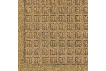 (0.9m Length x 0.6m Width, Gold) - Andersen 280 WaterHog Fashion Polypropylene Fibre Entrance Indoor/Outdoor Floor Mat, SBR Rubber Backing, 0.9m Length x 0.6m Width, 1cm Thick, Gold