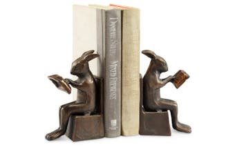 Studious Rabbit Bookends