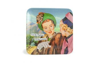 (You be Thelma I'll be Louise) - Anne Taintor Melamine Mini Tray, You be Thelma I'll be Louise