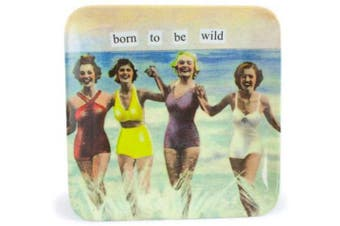 (Born to be Wild) - Anne Taintor Melamine Mini Tray, Born to be Wild