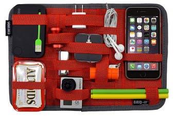 (Red) - Cocoon CPG10RD GRID-IT! Accessory Organiser - Medium 30cm x 20cm (Racing Red)