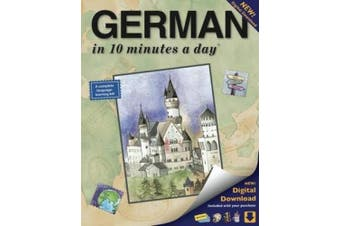 GERMAN in 10 minutes a day (R) Audio CD