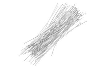 Beadaholique 20-Piece Sterling Head Pins, 26-Gauge, 3.8cm , Silver