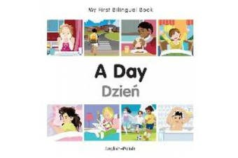My First Bilingual Book - A Day - Korean-english (My First Bilingual Book) [Board book]