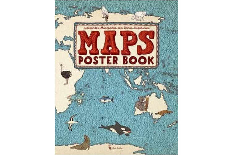 Maps Poster Book (Maps)