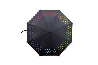 (One Size, Black) - SUCK UK Colour Change Umbrella