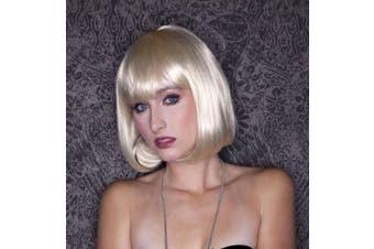 (Cali Blonde) - Short Bob Style - Cindy Wig (Cali Blonde)