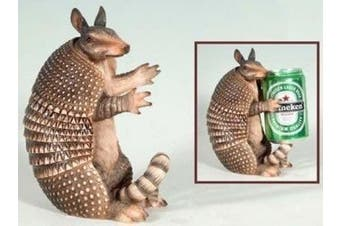 Decorative Armadillo Beer Can Holder