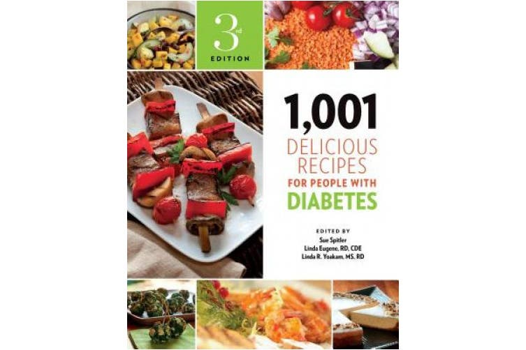 1,001 Delicious Recipes for People with Diabetes (1,001)