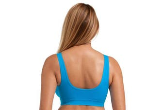 (Medium Size: 10-12, Black/White/Blue) - Geuine Marielle Bra Perfect Maternity, Nursing Or Everyday Comfort Bras NEW Colours and Styles To Choose From!! Comfort Stretch Pull Soft Stretch Cup Perfect Comfort - By Marielle® - Sizes 6-22