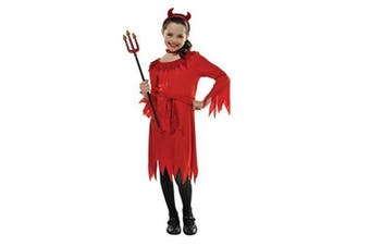 (Size UK - 4-6 Years) - Christy's Children Lil Devil Costume (4-6 Years)