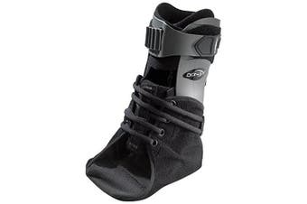 (Standard Calf with Extra Support, Right Foot, Small) - DonJoy Velocity ES (Extra Support) Ankle Brace: Standard Calf, Right Foot, Small