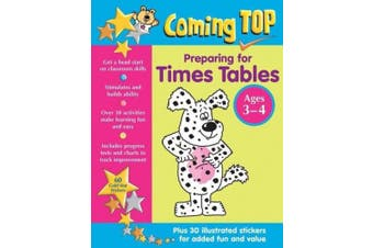 Coming Top: Preparing for Times Tables - Ages 3-4: 60 Gold Star Stickers - Plus 30 Illustrated Stickers for Added Fun and Value (Coming Top)