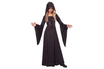 (10-12, One Color) - California Costumes Hooded Robe Costume, One Colour, 10-12