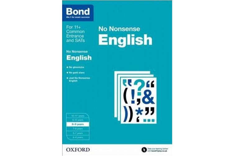 Bond: English: No Nonsense: 8-9 years (Bond)
