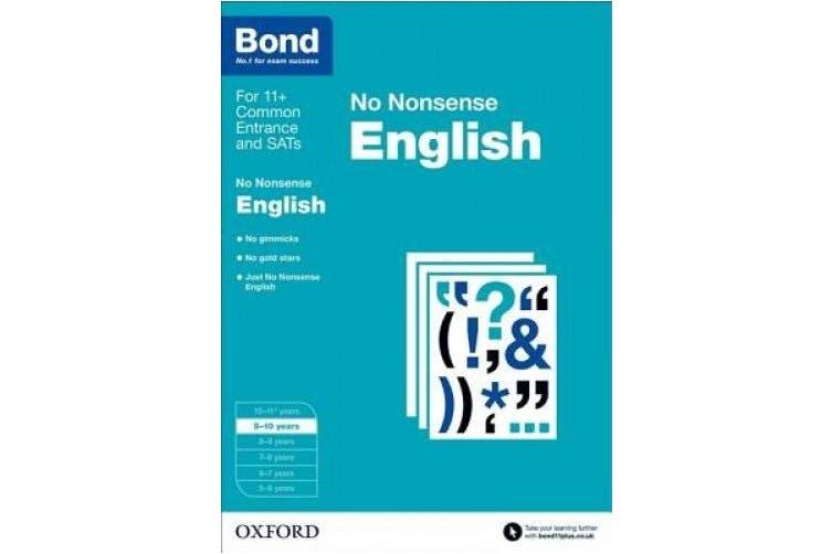 Bond: English: No Nonsense: 9-10 years (Bond)