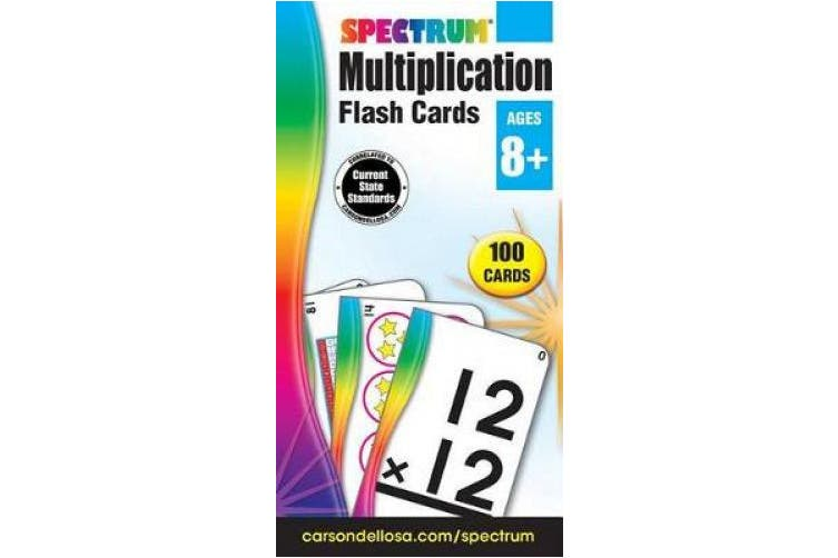 Multiplication Flash Cards (Spectrum Flash Cards)