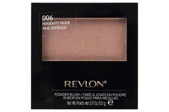 (Naughty Nude, Number 006) - Revlon Powder blush naughty nude 5g