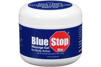 Blue Stop Max Massage Gel for Body Aches, 120ml