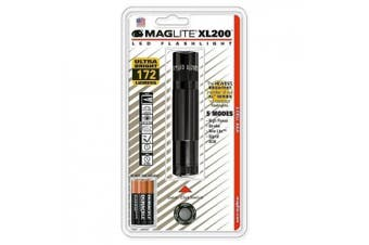 (Black) - MagLITE MAGXL200-S3016 XL200 LED Flashlight, Black