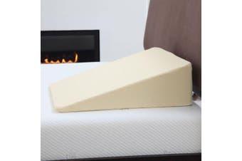 Lavish Home Folding Wedge Memory Foam Pillow - 60cm x 41cm x 18cm