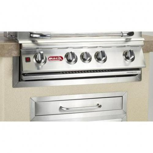 Bull Outdoor Products Stainless Steel Grill Finishing Frame BLOP1092Features   Distressed:No Dimensions   Overall Height – Top to Bottom:33Overall Width – Side to Side:8Overall Depth – Front to Back:2Overall Product Weight:8