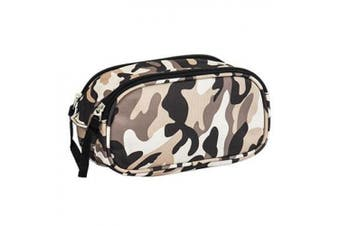 (Camo) - Obersee Kids Camo Toiletry and Accessory Bag