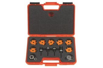 CMT 823.001.11 Slot Cutter Set In Carrying Case 8mm Bore Carbide-Tipped