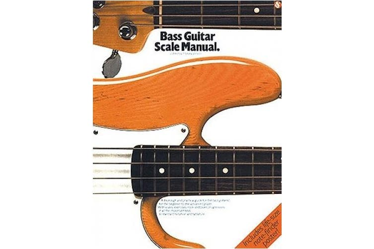 Bass Guitar Scale Manual: (Mfm 64) (Bass Guitar)