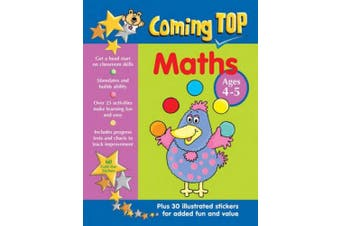 Coming Top Maths Ages 4-5: Get a Head Start on Classroom Skills - With Stickers!