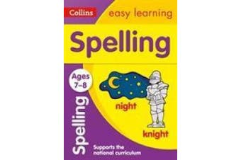 Spelling Ages 7-8: New Edition (Collins Easy Learning KS2) (Collins Easy Learning KS2)