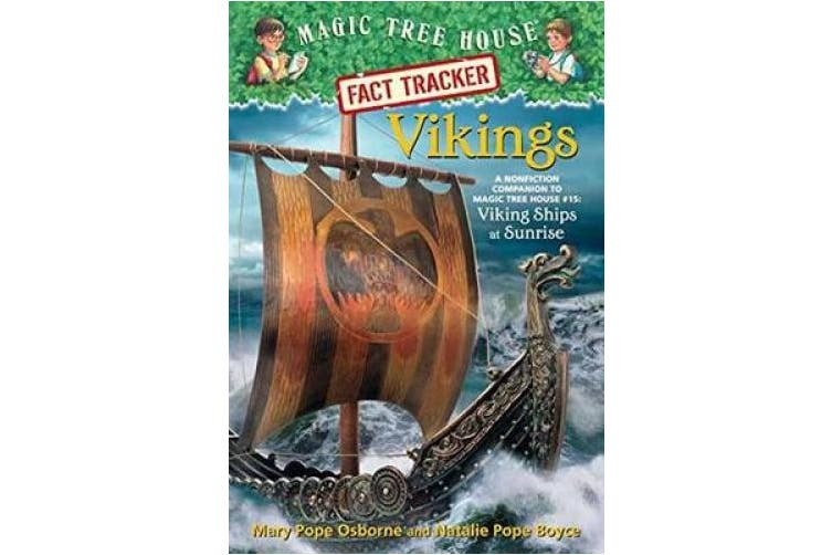 Vikings: A Nonfiction Companion to Magic Tree House #15: Viking Ships at Sunrise