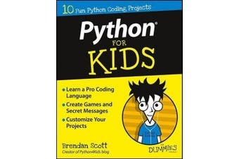 Python for Kids For Dummies (For Kids For Dummies)