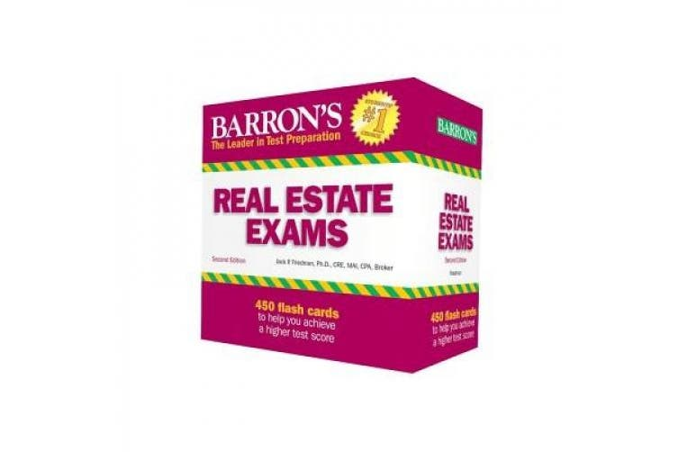 Barron's Real Estate Exam Flash Cards
